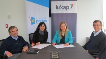 Lukkap apoya a jóvenes de Fundación Portas