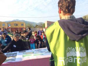 Fundación Mi Parque y TECHO-Chile recuperan área verde de 1.400 m2