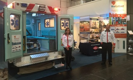 Empresa Chilena utiliza nanoparticulas de cobre en ambulancia