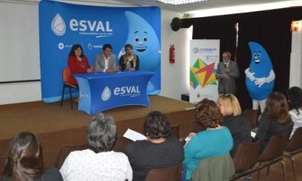 Esval y Sernam lanzan primer programa de capacitación en instalaciones sanitarias para mujeres