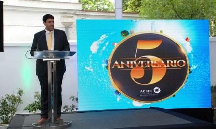 Ministro de Energía encabezó celebración del quinto aniversario de la Agencia Chilena de Eficiencia Energética