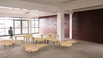 Diseñan innovadores comedores escolares de madera