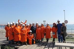 Delegación de Pescadores de la Región del  Bío Bío visita GNL QUINTERO para conocer impactos de la insdustria