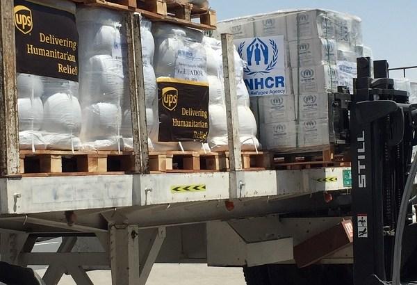 UPS ayuda a víctimas del terremoto de Ecuador