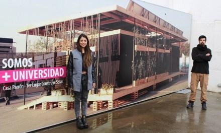 Diseñan vivienda sustentable en madera basado en ruca Lafquenche