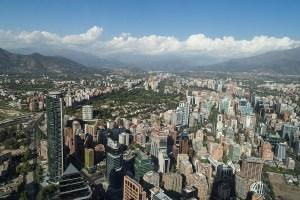 View from Gran Torre Santiago