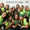 Samsung Entrega 12.500 Galaxy S7 edge Edición Limitada de los Juegos Olímpicos a los Atletas de Rio 2016