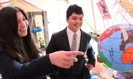 Escolares de San Fernando mostraron sus propuestas para un mundo más sustentable