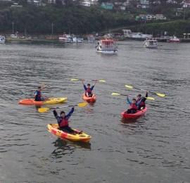 Portuaria Corral promueve el deporte junto al Liceo Carlos Haverbeck Richter