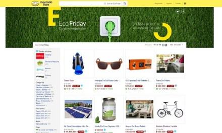 #EcoFriday: comenzó campaña que promueve el consumo sustentable, con 500 productos ecológicos para comprar online