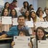 Casi medio centenar de estudiantes de Universidad Autónoma recibieron sus certificados del curso de lengua de señas