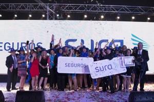 Seguros SURA es reconocida dentro de las 10 Mejores Empresas para Trabajar en Chile