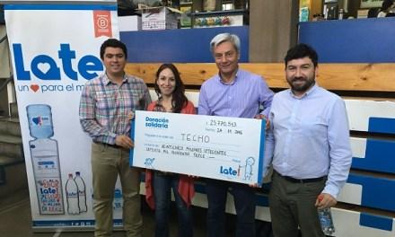 Empresa chilena que dona el 100% de sus utilidades supera los $630 millones en donaciones