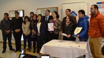 Firman Acuerdo que impulsa recambio de calefactores en sector comercial en Coyhaique