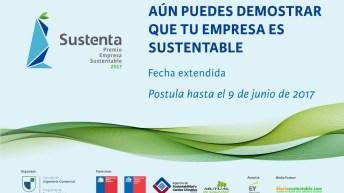Premio Sustenta extiende su convocatoria para las empresas RM