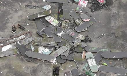 Rubrum: Recuperando la madera en desuso de skateboards