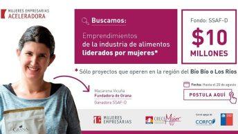 Aceleradora de Negocios de Mujeres Empresarias abre primera convocatoria exclusiva para proyectos regionales