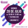E3Coop 2017: Charlas cooperativas destacarán historias exitosas de asociatividad realizadas por jóvenes en diferentes regiones de Chile