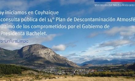 """MMA inicia consulta pública de """"Plan de Descontaminación Atmosférica"""" por MP2,5 para Coyhaique"""