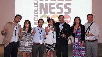 "Esval recibe por segundo año consecutivo el premio ""Revolución Wellness"""