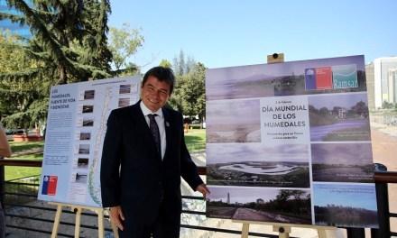 Ministerio del Medio Ambiente celebra el Día Mundial de los Humedales con muestra gráfica en puente Pedro de Valdivia