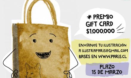 Tiendas Paris te invita a ilustrar su nueva bolsa de papel inspirada en lugares de Chile