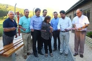 Vecinos de Rincón de Pataguas Oriente inauguran obras de mejora en sede social