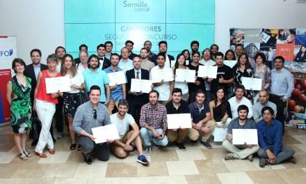 Corfo distingue a nuevos ganadores 2017 del Semilla Corfo