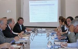 Ministro Mena encabeza primera reunión de la Comisión Asesora Presidencial Permanente de Cambio Climático