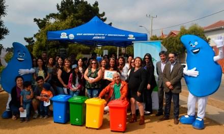 50 familias de San Antonio son beneficiadas con proyecto de reciclaje y separación de la basura
