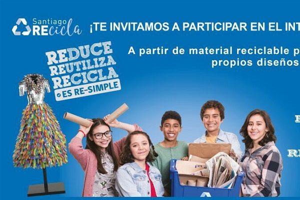 Último llamado a participar en Primer Concurso Interescolar de Diseño de Vestuario con Residuos Reciclables