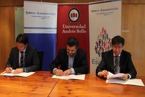 Esval y Universidad Andrés Bello firman convenio para impulsar la inclusión de personas con discapacidad