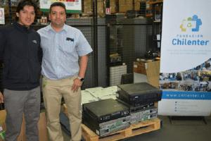 Inacap realiza primera entrega de residuos electrónicos a Chilenter