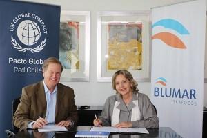 Blumar se suma a las iniciativas de Pacto Global