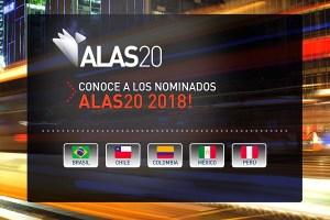 Conoce a los nominados a ALAS20 año 2018 en Chile