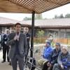 Nuevo jardín terapéutico para adultos mayores en el Pequeño Cottolengo