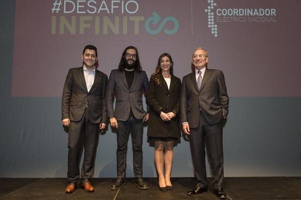 Con hasta $ 8.000.000 y un viaje a Alemania premia el Concurso Desafío Infinito organizado por el Coordinador Eléctrico Nacional