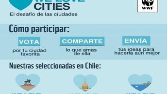 Últimas semanas para votar en competencia de ciudades sostenibles We Love Cities