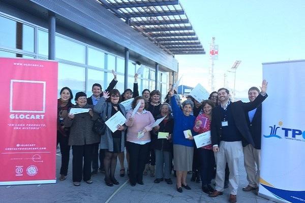 TPC y Glocart cierran exitoso ciclo de capacitaciones a 15 emprendedoras de la parte alta de Coquimbo.
