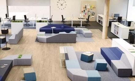 Los espacios de trabajo se están convirtiendo en lugares híbridos entre la oficina y el hogar