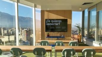 WeWork sorprende con diseño inspirado en identidad chilena