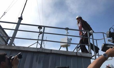 Ministra Schmidt participa en Quintero del traspaso de nueve estaciones de monitoreo de calidad del aire al Estado de Chile