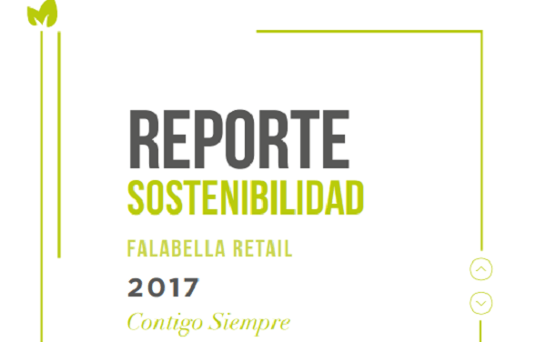 Falabella Retail presentó su Reporte de Sostenibilidad 2017