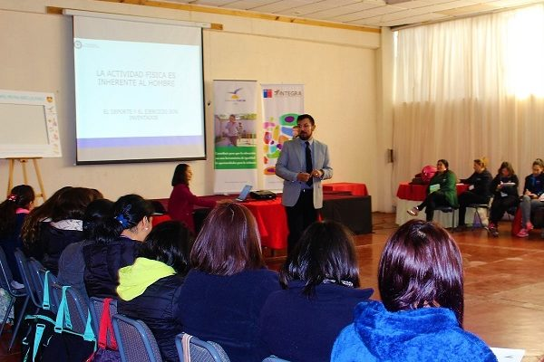 """Vida Activa y Saludable"" de Fundación Arcor Chile llega a la Sexta Región"