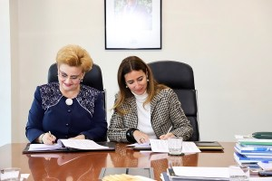 Ministra Schmidt se reúne con vice primer ministra de Rumania y firman acuerdo de cooperación para la protección ambiental