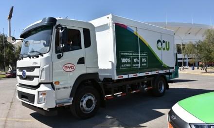 CCU inicia operación del primer camión de alto tonelaje 100% eléctrico en Chile
