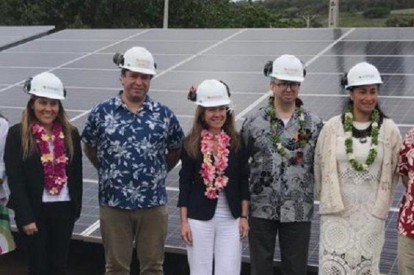 Inauguran la primera planta de generación fotovoltaica en Isla de Pascua