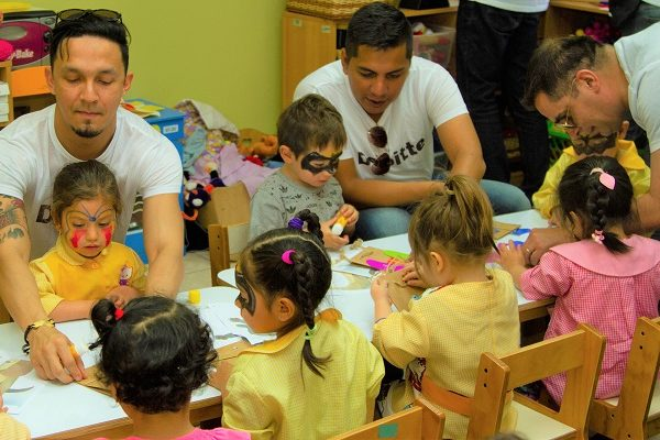 200 niños y niñas de Peñalolén fueron beneficiados gracias a un nuevo voluntariado Corporativo.