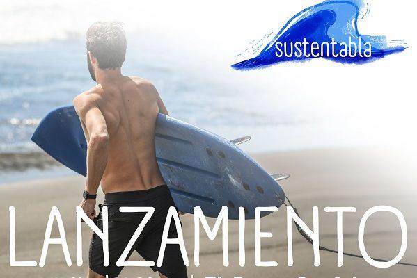 Sustentabla: la primera tabla de surf de plástico reciclado