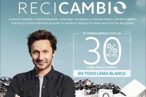 """Paris en alianza con Degraf lanzan """"ReCicambio"""" campaña para dar nueva vida a los electrodomésticos"""